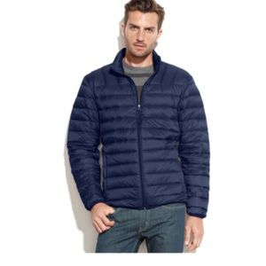 {Hawke & Co.} Quilted Zip Front Puffer Jacket